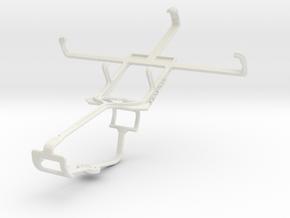 Controller mount for Xbox One & Alcatel OT-978 in White Natural Versatile Plastic