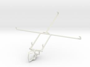 Controller mount for PS3 & Asus Transformer Prime  in White Natural Versatile Plastic