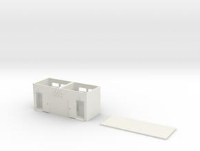 Wc 1/87 in White Natural Versatile Plastic