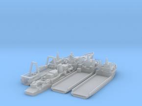 Cod War Set 3 1:700/600 in Smooth Fine Detail Plastic: 1:700