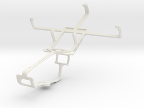 Controller mount for Xbox One & BLU Advance 4.0 in White Natural Versatile Plastic