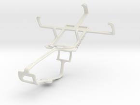 Controller mount for Xbox One & BLU Dash in White Natural Versatile Plastic