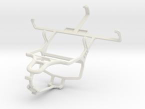 Controller mount for PS4 & BLU Elite 3.8 in White Natural Versatile Plastic