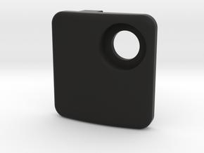 High Direct Mount Cover in Black Natural Versatile Plastic