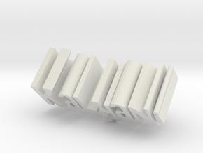 Kalyani in White Natural Versatile Plastic
