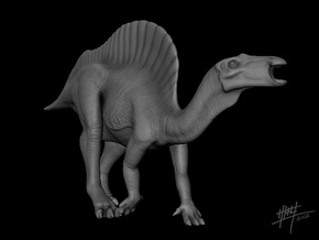 Ouranosaurus 1/72 in White Strong & Flexible