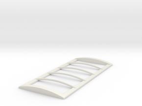 1/64 18' Tarp frame in White Natural Versatile Plastic