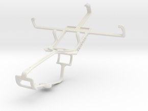 Controller mount for Xbox One & Dell Smoke in White Natural Versatile Plastic