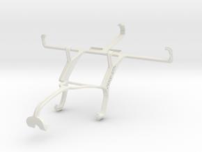 Controller mount for Xbox 360 & Gigabyte GSmart Ak in White Natural Versatile Plastic