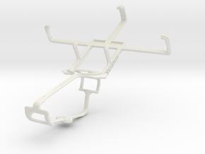 Controller mount for Xbox One & Gigabyte GSmart G1 in White Natural Versatile Plastic