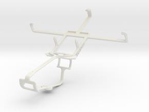 Controller mount for Xbox One & Gigabyte GSmart Ma in White Natural Versatile Plastic