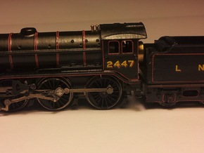 LNER K3 and GST Body Shell in Frosted Ultra Detail