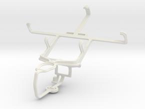 Controller mount for PS3 & Gigabyte GSmart Rio R1 in White Natural Versatile Plastic