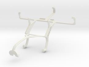 Controller mount for Xbox 360 & Gigabyte GSmart Ri in White Natural Versatile Plastic