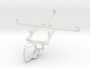 Controller mount for PS3 & Gigabyte GSmart Sierra  in White Natural Versatile Plastic