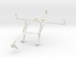 Controller mount for Xbox 360 & Gigabyte GSmart Si in White Natural Versatile Plastic