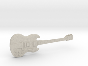 Gibson SG AC/DC Angus Young in Natural Sandstone