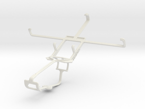 Controller mount for Xbox One & Gionee Gpad G3 in White Natural Versatile Plastic