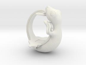 Gecko size16 in White Natural Versatile Plastic