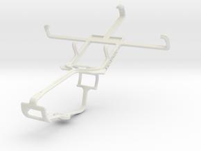 Controller mount for Xbox One & HTC Desire U in White Natural Versatile Plastic