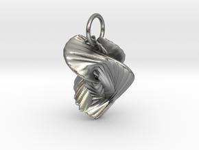 Ornament in Natural Silver