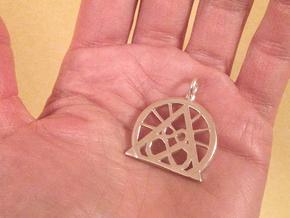 SACREDLIFE SYMBOL OF ABUNDANCE in Polished Silver
