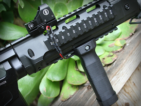 Airsoft Power Grip (Battery in Grip) in Black PA12