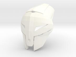 Kanohi Tepan - Mask of Psychometry (Bionicle) in White Processed Versatile Plastic