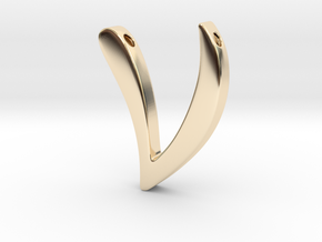 Nu in 14K Yellow Gold