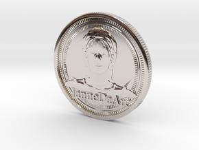 Jehanne Darc coin in Platinum