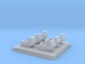 Schwelleraufsatz 1:87 6x in Smooth Fine Detail Plastic