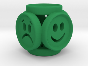 EmotionCube by PANDSRONE in Green Strong & Flexible Polished
