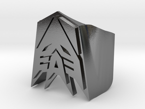 [Transformer] Decepticon-ring Size #6 in Polished Silver