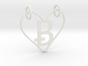 Valentines (NEW B) in White Natural Versatile Plastic