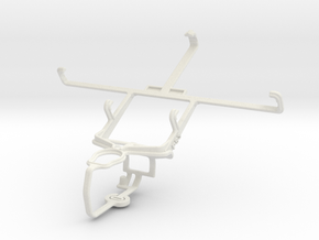 Controller mount for PS3 & Lenovo A830 in White Natural Versatile Plastic