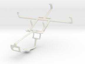Controller mount for Xbox One & Lenovo A800 in White Natural Versatile Plastic