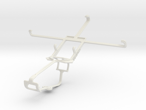 Controller mount for Xbox One & Lenovo K900 in White Natural Versatile Plastic