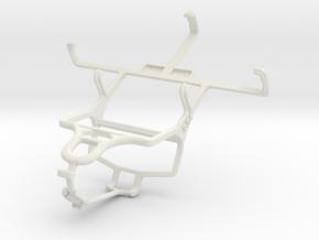 Controller mount for PS4 & Lenovo P700i in White Natural Versatile Plastic