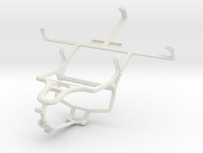 Controller mount for PS4 & Lenovo S720 in White Natural Versatile Plastic