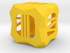 Dice156 in Yellow Processed Versatile Plastic