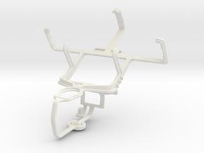Controller mount for PS3 & LG KS10 in White Natural Versatile Plastic