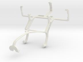 Controller mount for Xbox 360 & LG KS10 in White Natural Versatile Plastic