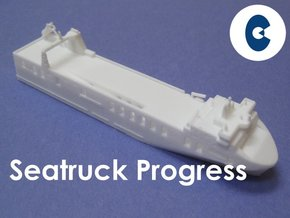 MV Seatruck Progress (1:1200) in White Strong & Flexible
