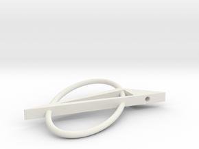 Quarta in White Natural Versatile Plastic