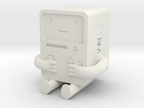 BMO is metal! in White Strong & Flexible