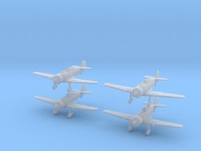 1/240 Fokker D.XXI (Netherlands) (x4) in Smooth Fine Detail Plastic