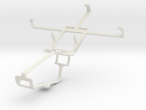Controller mount for Xbox One & LG Optimus 3D Max  in White Natural Versatile Plastic