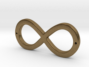 Infinity Sign in Natural Bronze