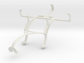 Controller mount for Xbox 360 & LG Optimus L4 II D in White Natural Versatile Plastic