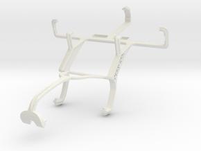 Controller mount for Xbox 360 & LG Optimus L3 II E in White Natural Versatile Plastic